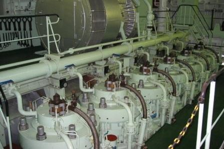 Containership-main-engine